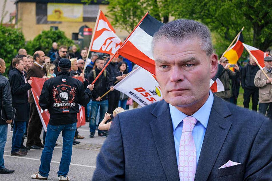 Durch Populisten besteht laut Sachsen-Anhalts Innenminister Holger Stahlknecht (54, CDU) die Gefahr, dass Rechtsextremismus salonfähig gemacht würden. (Symbolbild)