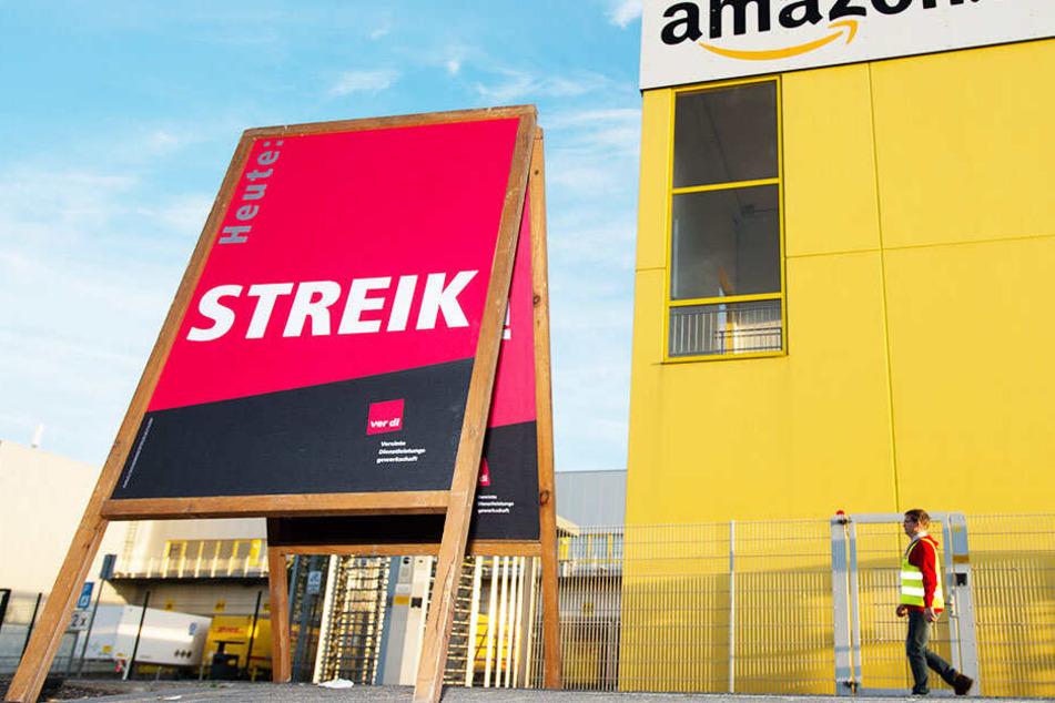 Etwa 400 Streikende täglich erwartet die Gewerkschaft ver.di.
