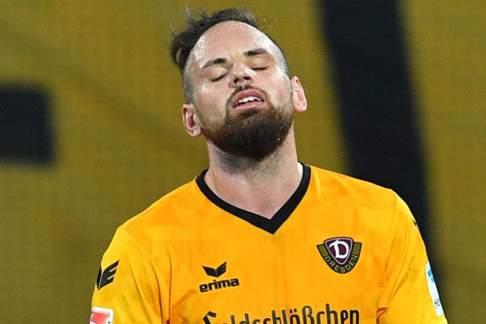 Bei Dynamo war Giuliano Modica hinter Florian Ballas und Jannik Müller zuletzt nur Innenverteidiger Nummer drei.