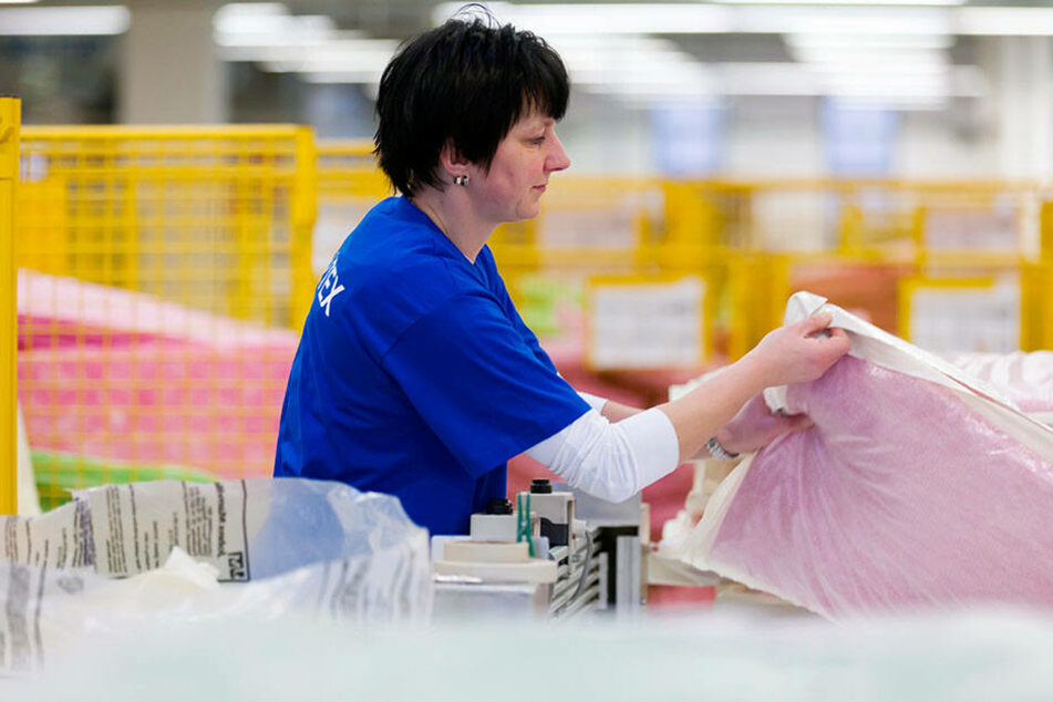 Bei Olutex in Seifhennersdorf werden Thermo- und Schallisoliermatten u.a. für Airbus produziert.