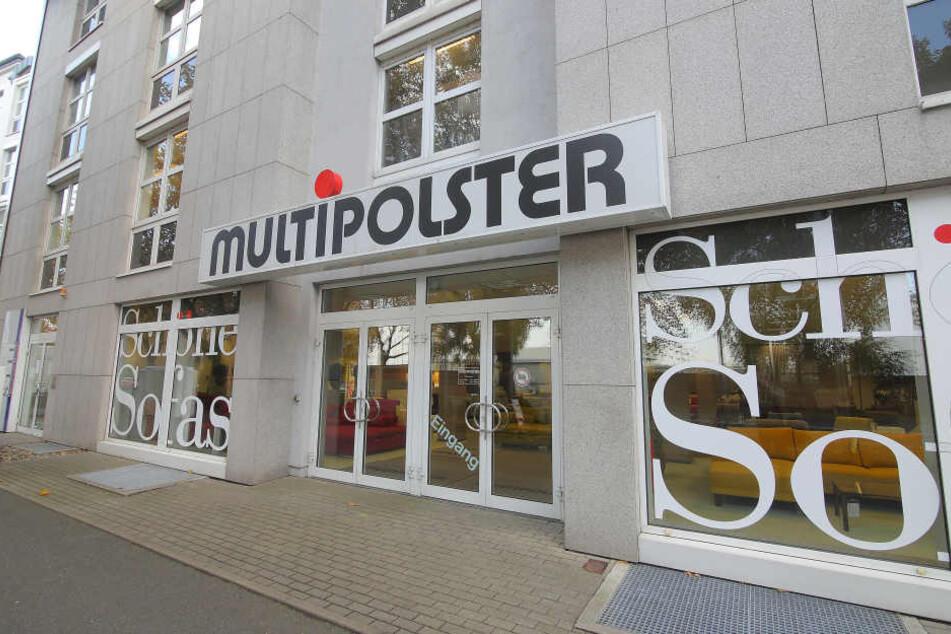 Immer wieder wird die Mulitpolster-Filiale in der Bremer Straße von  Einbrechern heimgesucht.