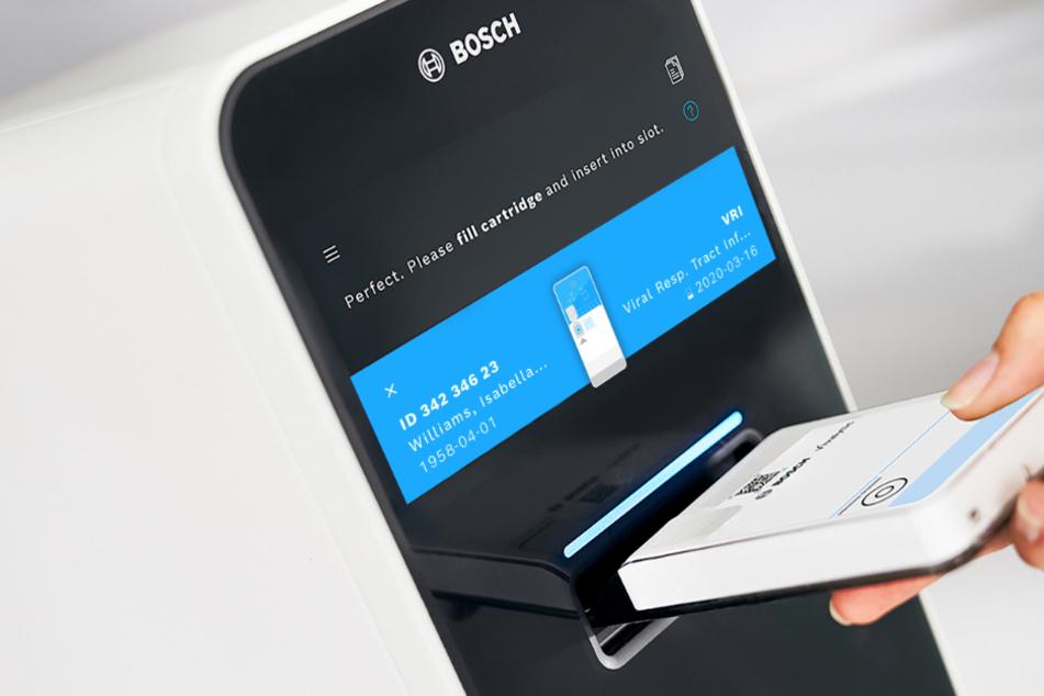 Bosch entwickelt Covid-19-Schnelltest: Ergebnis steht in unter drei Stunden fest