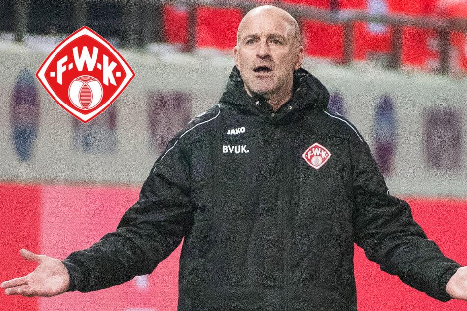 Nach nur fünf Spielen: Würzburg entlässt Trainer Antwerpen! Neuer Coach steht fest