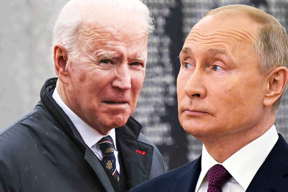 US-Präsident Joe Biden (78) und der russische Präsident Wladimir Putin (68).
