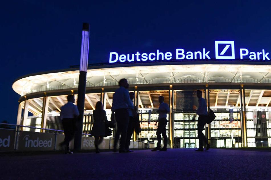 Der Deutsche Bank Park - Spielstätte von Bundesligist Eintracht Frankfurt, der für die kommende Saison die Lizenz der DFL ohne Auflagen erhielt.
