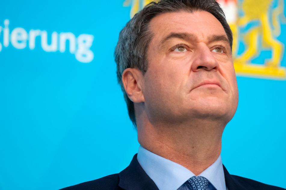 Markus Söder (53, CSU), Ministerpräsident von Bayern, wird als Kanzlerkandidat der Union gehandelt.