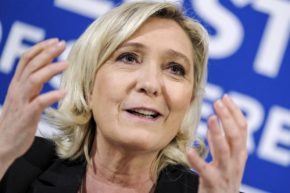 """Marine Le Pen (52), Vorsitzende der rechtspopulistischen Partei """"Rassemblement National"""" aus Frankreich, erzielte mit ihrer Partei 2015 noch Höchstwerte."""