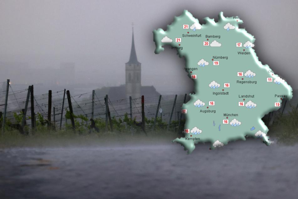 Das Wetter zeigte sich im Juli in Bayern vor allem nass.
