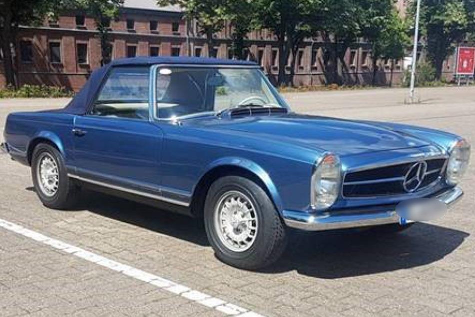 Wertvoller Mercedes-Oldtimer gestohlen - Polizei bittet um Hinweise