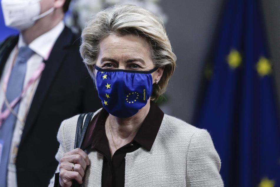 Ursula von der Leyen (62), Präsidentin der Europäischen Kommission.