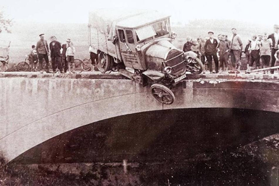 Spektakuläre Unfälle der 1920er-Jahre im Museum
