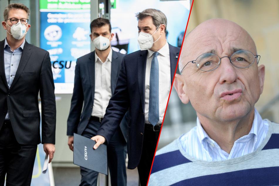 Machtprobe Maskenaffäre: Sauter legt Parteiämter nieder, doch das reicht der CSU nicht!