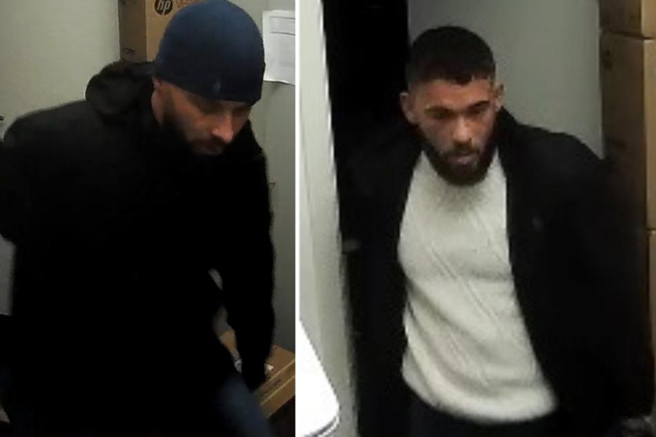 Mit diesen Bildern sucht die Polizei nach dem Duo.