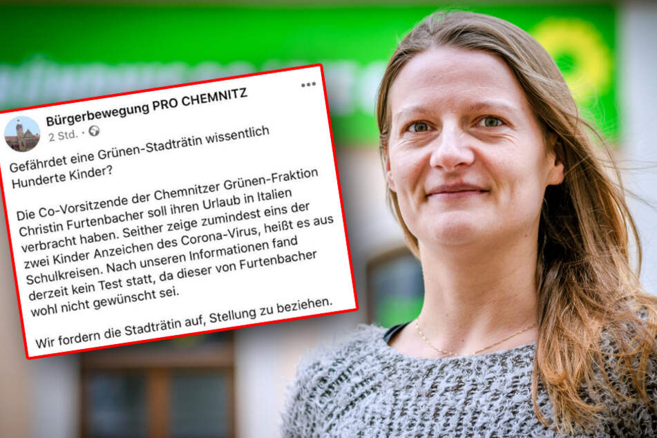 Pro Chemnitz unterstellt Kind von Grünen-Politikerin Corona-Infektion