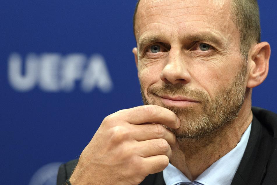 Die UEFA, rund um Präsident Aleksander Čeferin (53) plant möglicherweise eine Verlegung des EM-Endspielstandortes.