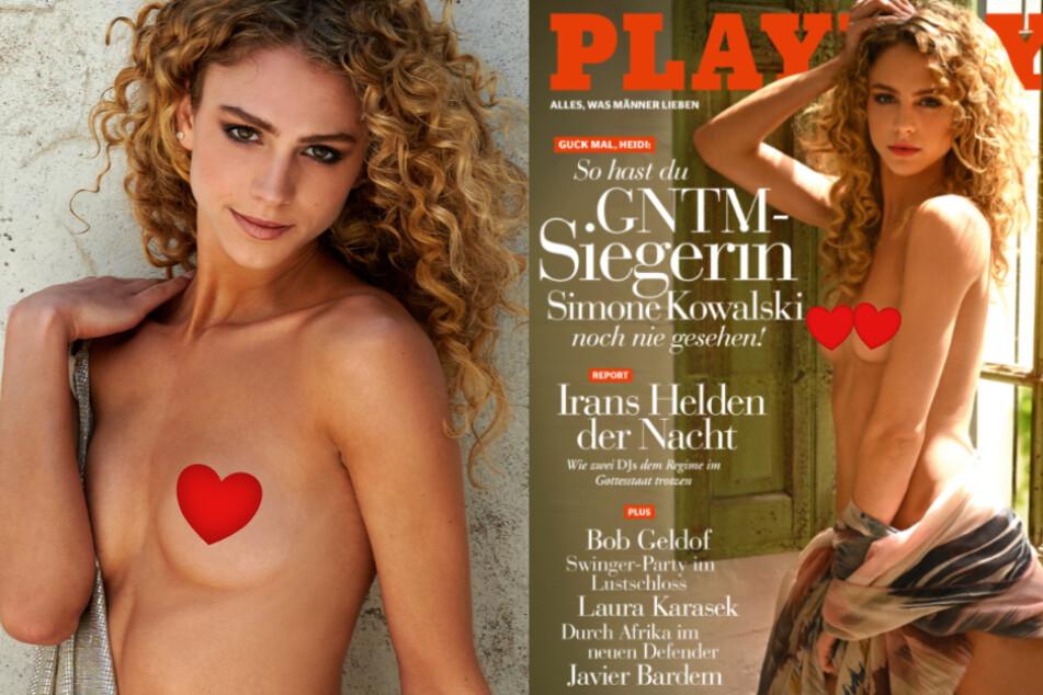 Wow! So heiß zeigt sich GNTM-Gewinnerin Simone im Playboy