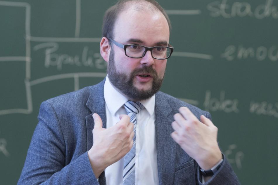 Kultusminister Christian Piwarz (44, CDU) hält die Einschätzung der sozialen Kompetenzen von Schülern für zwingend notwendig.