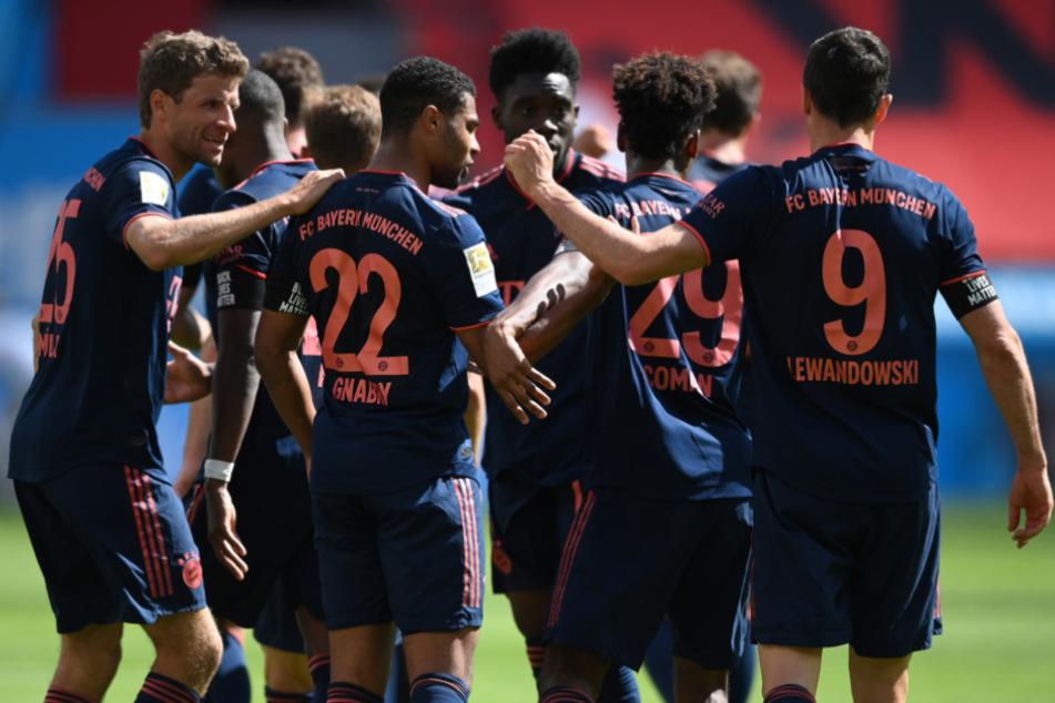 Der FC Bayern gewann am Ende gegen Leverkusen wiederholt souverän.