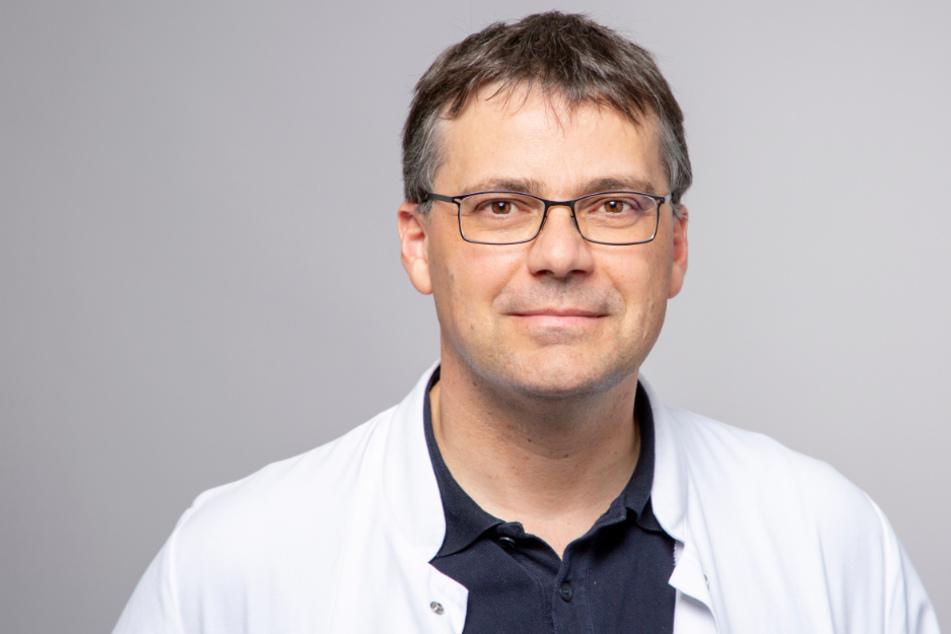 Prof. Dr. Henning Wege, Chefarzt der Klinik für Allgemeine Innere Medizin vom Klinikum Esslingen.