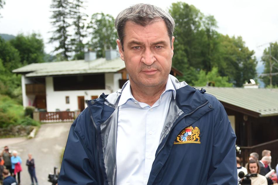 Bayerns Ministerpräsident Markus Söder (54, CSU) hat nach den verheerenden Unwettern mehr Anstrengungen beim Klimaschutz gefordert.