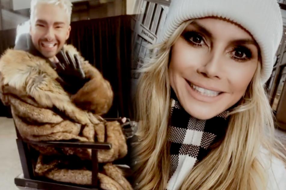 Heidi Klum holt Bill Kaulitz zu GNTM!