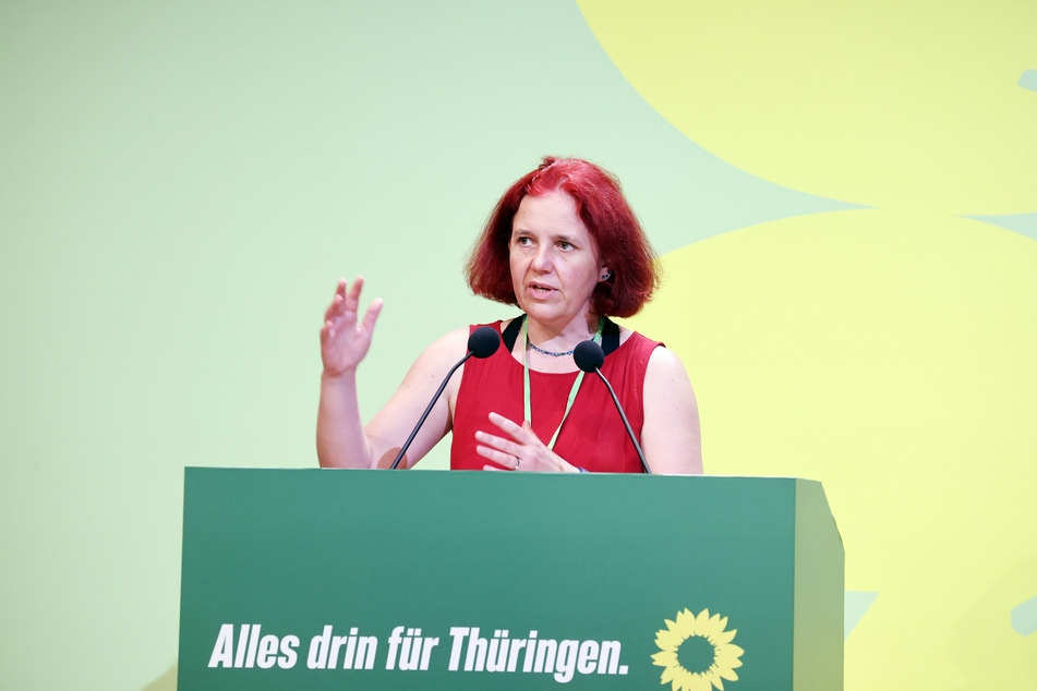 Astrid Rothe-Beinlich (47), Fraktionsvorsitzenden der Grünen in Thüringen glaubt nicht, dass es wegen der geplatzten Landtagsneuwahlen zu einer Regierungskrise kommt.