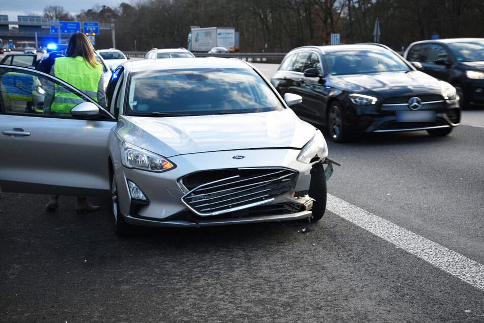 Wildschweine verirren sich auf Autobahn: Ein Verletzter, vier Tiere tot