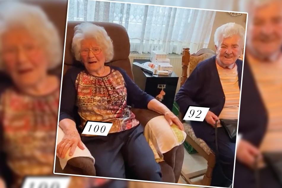 Das Geheimnis des Alters liegt offenbar in der täglichen Arbeit. Zumindest scheint es hier zu wirken. (Bildmontage)