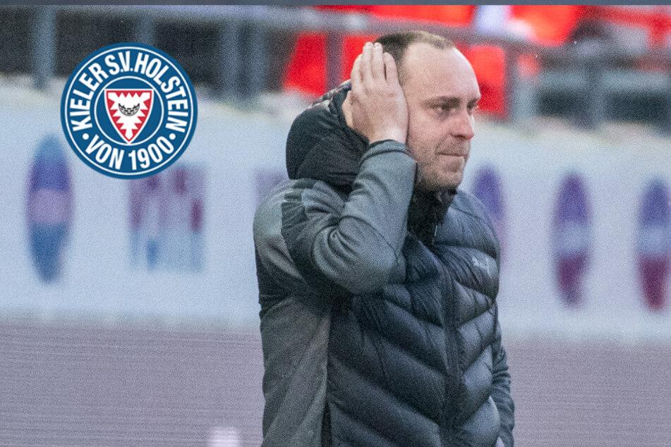 """Doppel-Quarantäne für Holstein-Kiel: Trainer sieht """"einmalige Situation"""" und enorme Probleme"""