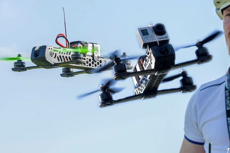 Rallye am Himmel! Diese Drohnen rasen zur Meisterschaft