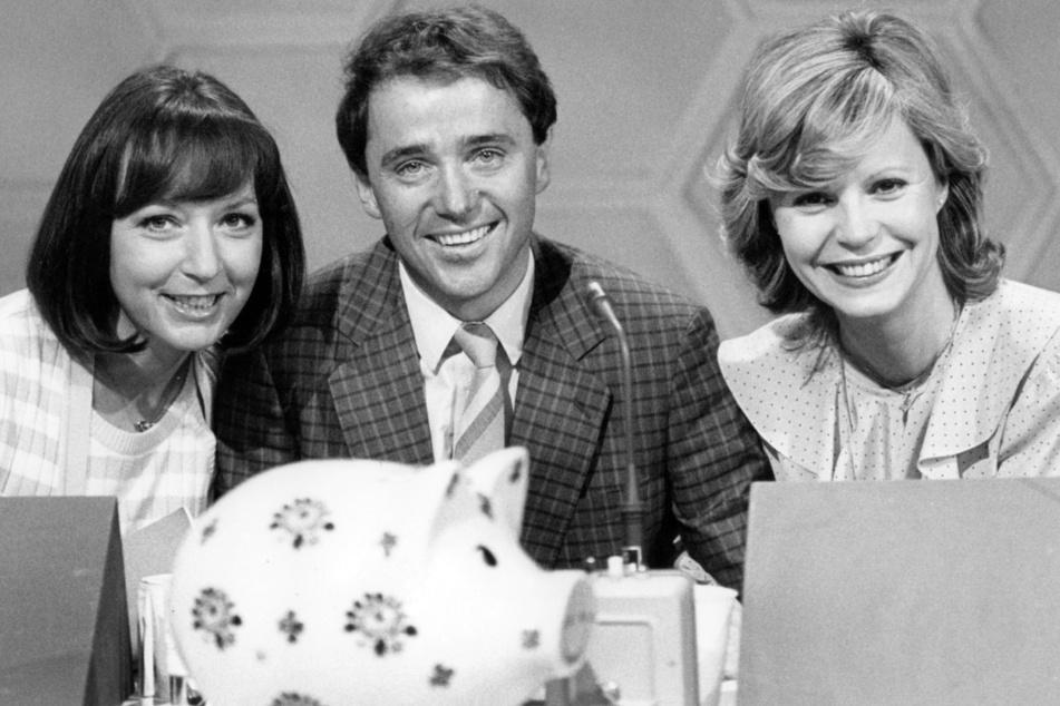 Die Jury der Ratesendung (l-r): Brigitte Xander, Christian Neureuther und Mady Riehl am 13.05.1982. (Archivbild)