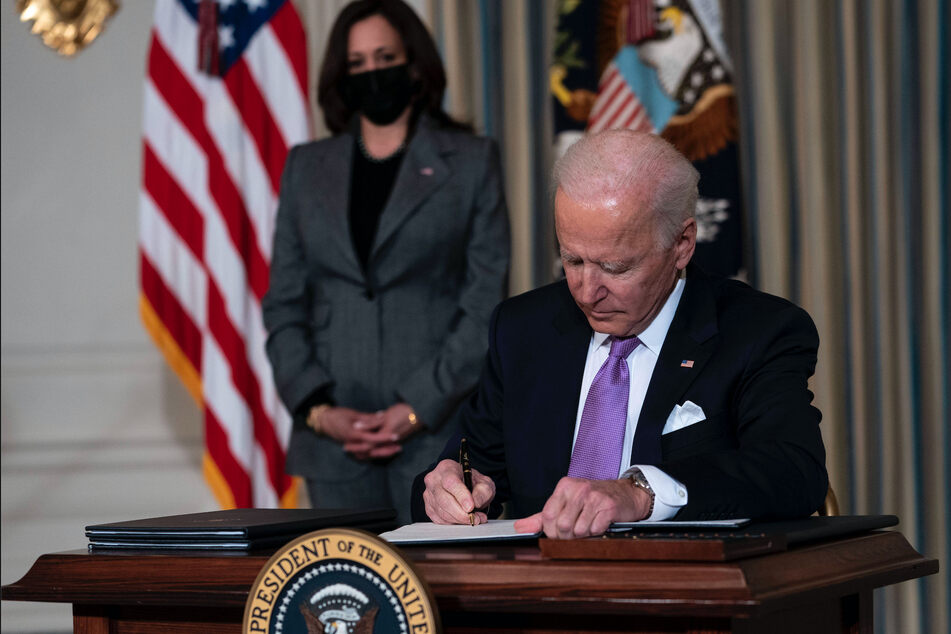 Biden signs executive actions to promote racial equity
