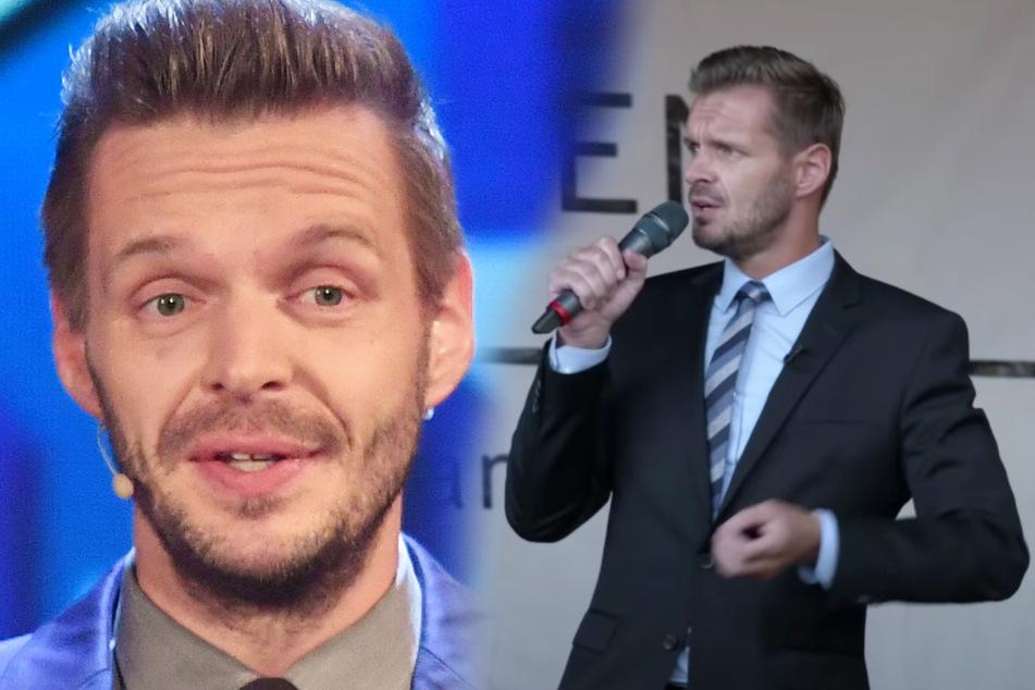 "Florian Schroeder erntet bei ""Querdenken""-Demo Applaus, dann Buh-Rufe"