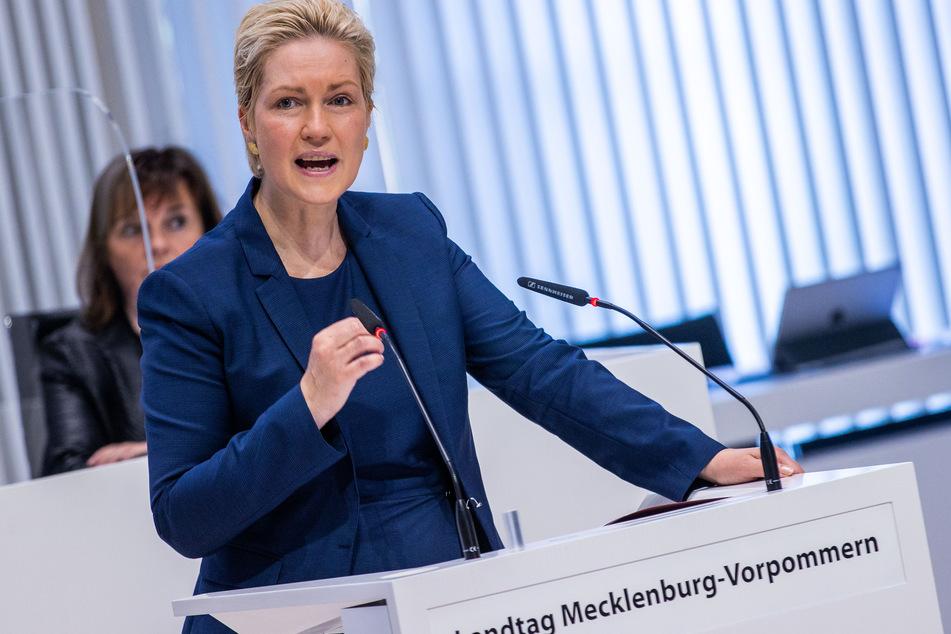 Manuela Schwesig (46, SPD) positioniert sich klar gegen Lockerungen der Corona-Regeln.