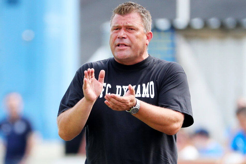 BFC-Coach Christian Benbennek (48) rockt mit Dynamo die Regionalliga Nordost und durfte in neun Partien acht Siege beklatschen.