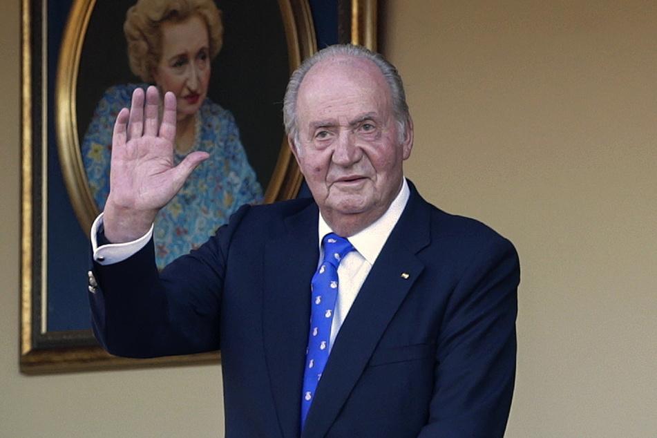 Juan Carlos (82), ehemaliger König von Spanien, flüchtete ins Exil.