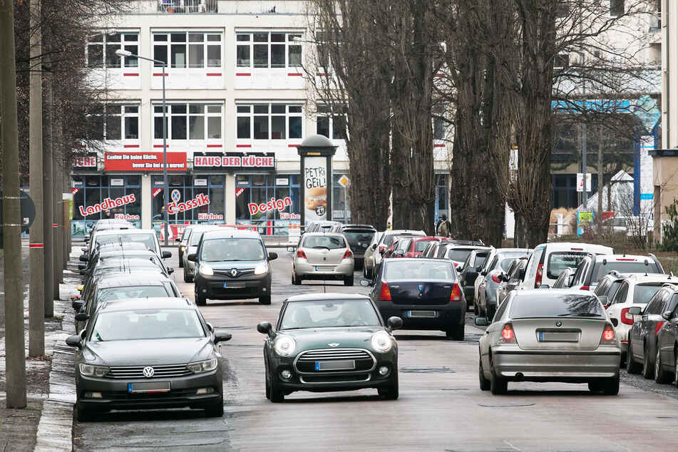 Auf der Enderstraße kam es zum Zusammenstoß. (Archivbild)