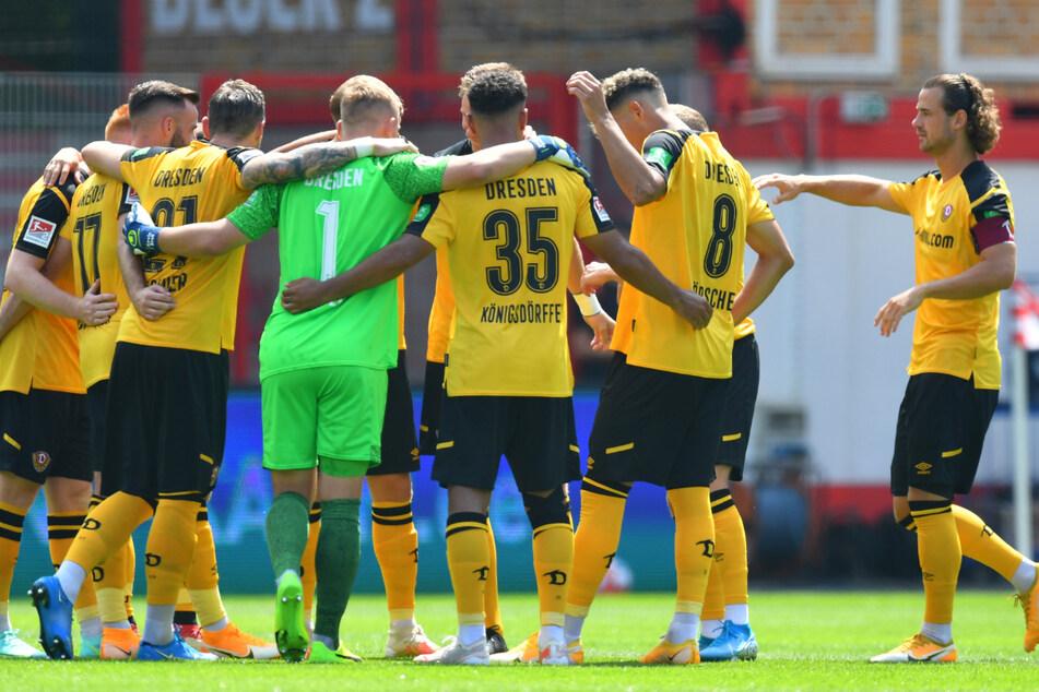 So sah die Dresdner Startelf beim abschließenden Härtetest gegen Union Berlin aus. Beim Auftakt gegen Ingolstadt könnte es aber noch Veränderungen geben.