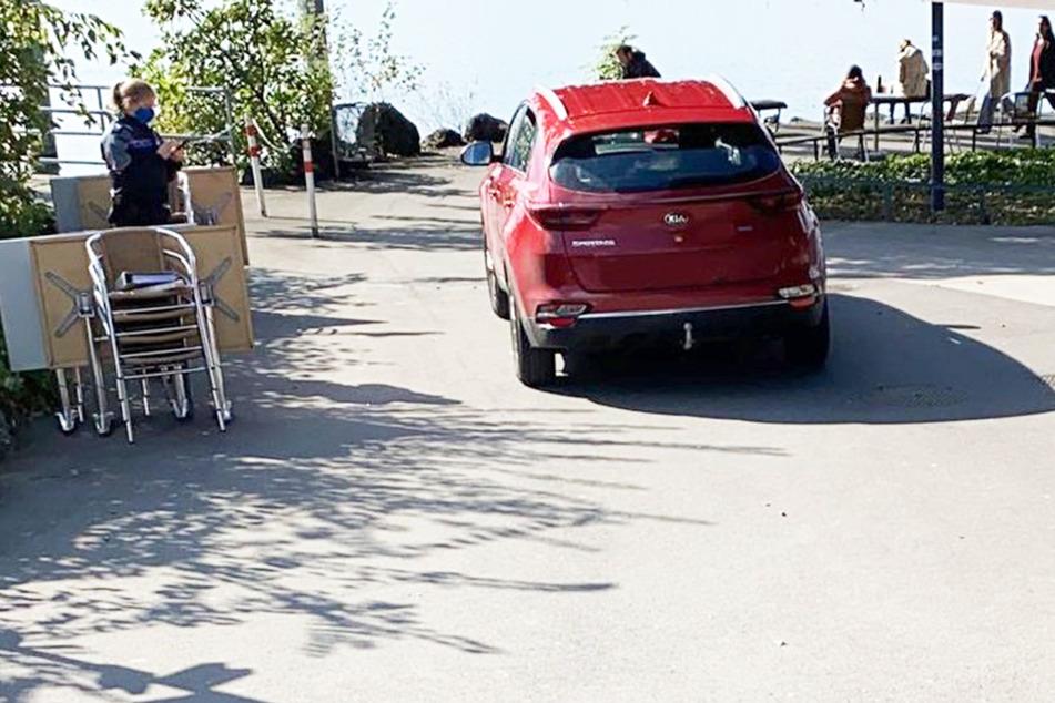Deutscher will Foto am See schießen, nun hat er Fahrverbot in der ganzen Schweiz!