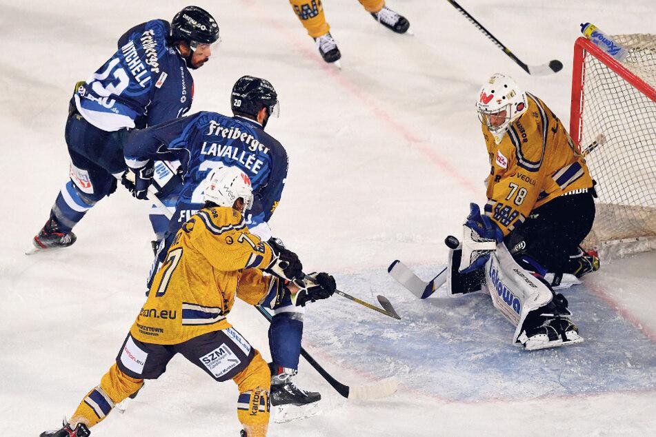 Das Derby zwischen den Eislöwen in Blau und den Lausitzer Füchsen wird es wohl in der kommenden Saison auch geben. Die Lizenzunterlagen haben beide Clubs eingereicht.