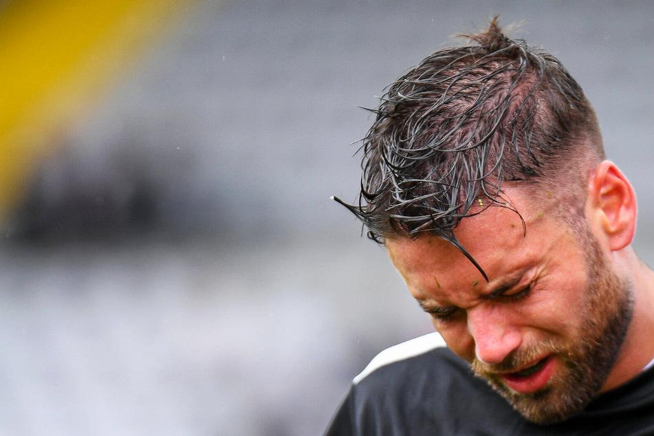 Im Duell mit Petar Sliskovic: Ex-Dynamo Niklas Kreuzer verletzt sich offenbar schwerer!