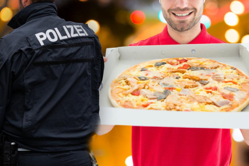 Fotomontage: Nachdem der hungrige 26-Jährige die falsch gelieferte Pizza sah, flogen die Fäuste (Symbolbild).