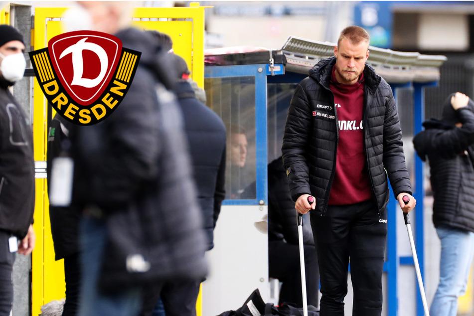 Dynamo-Kapitän Sebastian Mai fällt mit Knieverletzung aus!