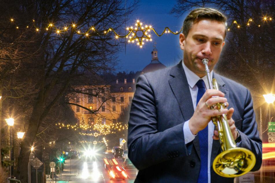Will zum Fest wieder zur Trompete greifen: Wirtschaftsminister Martin Dulig (46, SPD) wird ein Balkon-Konzert geben.