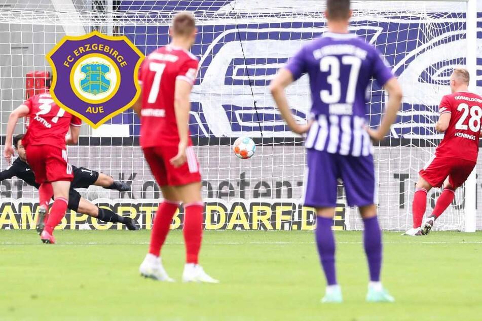 Dritte Pleite in Serie! Aue verliert gegen Düsseldorf und bleibt Schlusslicht der 2. Liga