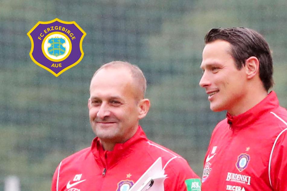 """Aue-Teamchef Hensel: """"Situation lässt es nicht zu, langfristige Pläne auszugeben"""""""