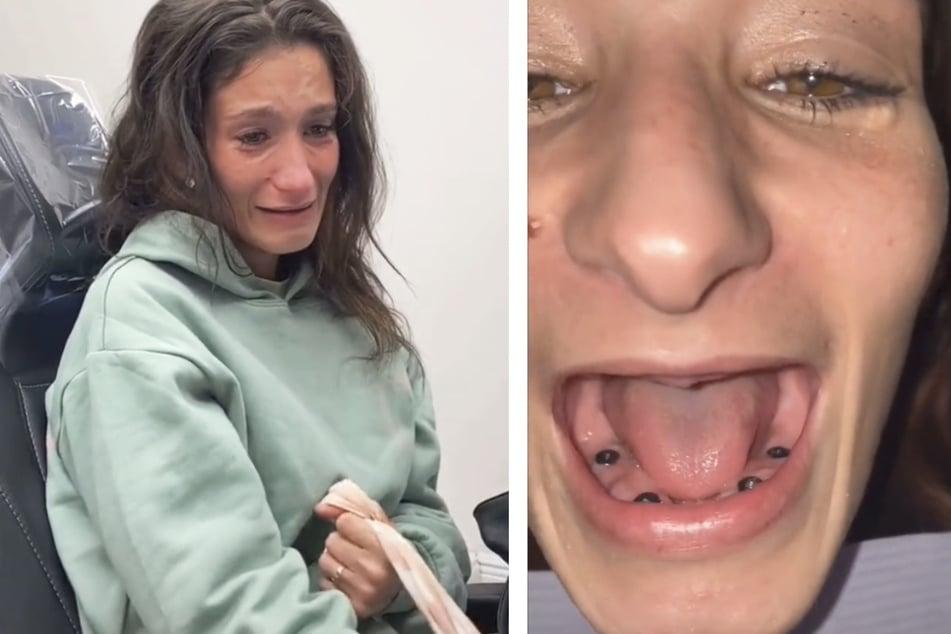 Zahnarzt verpasst Ex-Drogensüchtiger neue Zähne: Jetzt sieht sie aus wie ein neuer Mensch