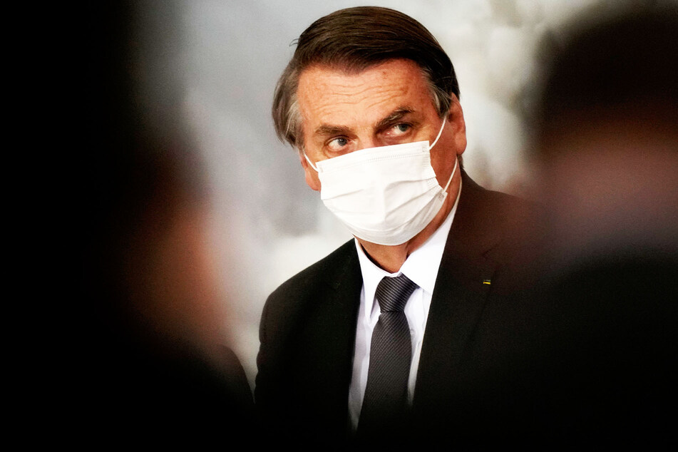 Jair Bolsonaro (66), Präsident von Brasilien.