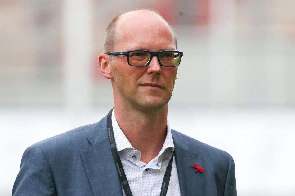 """Vorstandssprecher Tobias Leege mit klaren Worten: """"Das Ergebnis des Spiels wird sicher ein besonderer Indikator für die weiteren Entscheidungen des Vorstands sein."""""""
