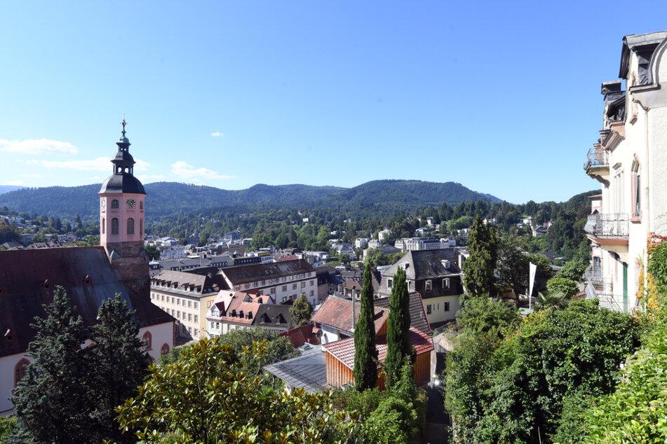 Blick auf die Innenstadt von Baden-Baden. (Archiv)